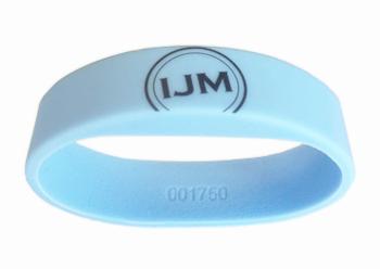 RFID polsbandje, RFID wristband