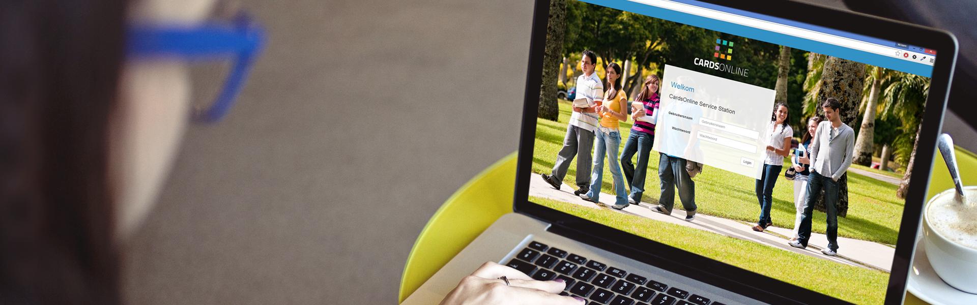 CardsOnline Service Portal -Online enrollment